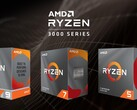 There is little that separates the Ryzen 3000XT series from its predecessors. (Image source: AMD)