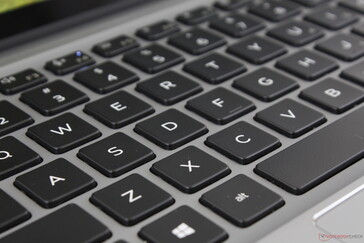 Key feedback is firmer, louder, deeper, and more satisfying to type on than on the XPS 13