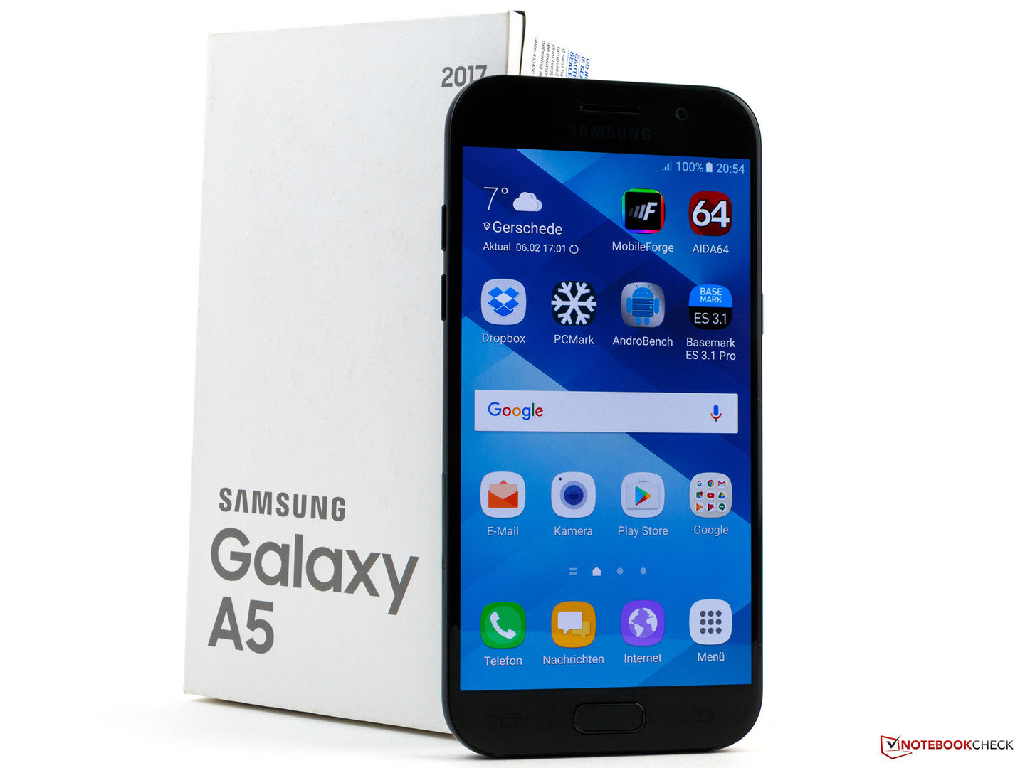 samsung galaxy a5 2017 smartphone review notebookcheck. Black Bedroom Furniture Sets. Home Design Ideas