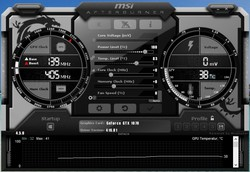 MSI Afterburner - stock settings
