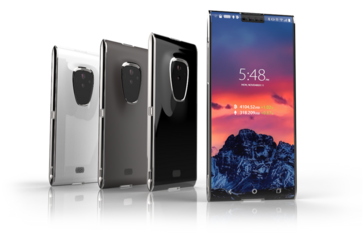 The Finney smartphone (Source: Sirin Labs)