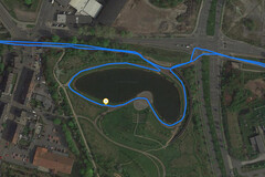 GPS test: Xiaomi Mi 9T – Cycling around a lake