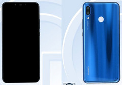 Huawei Nova 3 with FullView display and two dual cameras (Source: TENAA)