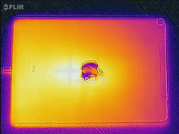 Apple iPad Pro 10.5: heat image