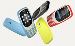The Nokia 3310 3G will being its global rollout in mid-October. (Source: HMD)
