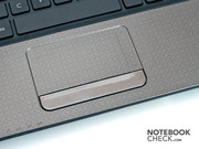The touchpad is multi-touch capable and was convincing.