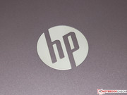 One HP logo here, ...