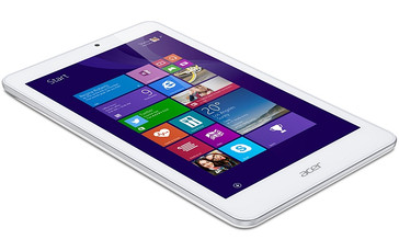 Acer Iconia Tab 8 W flat Windows tablet