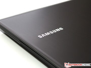 ...such as the Samsung logo on the rear.