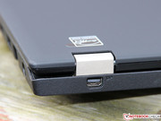 Solid metal hinges are tradition among ThinkPads,