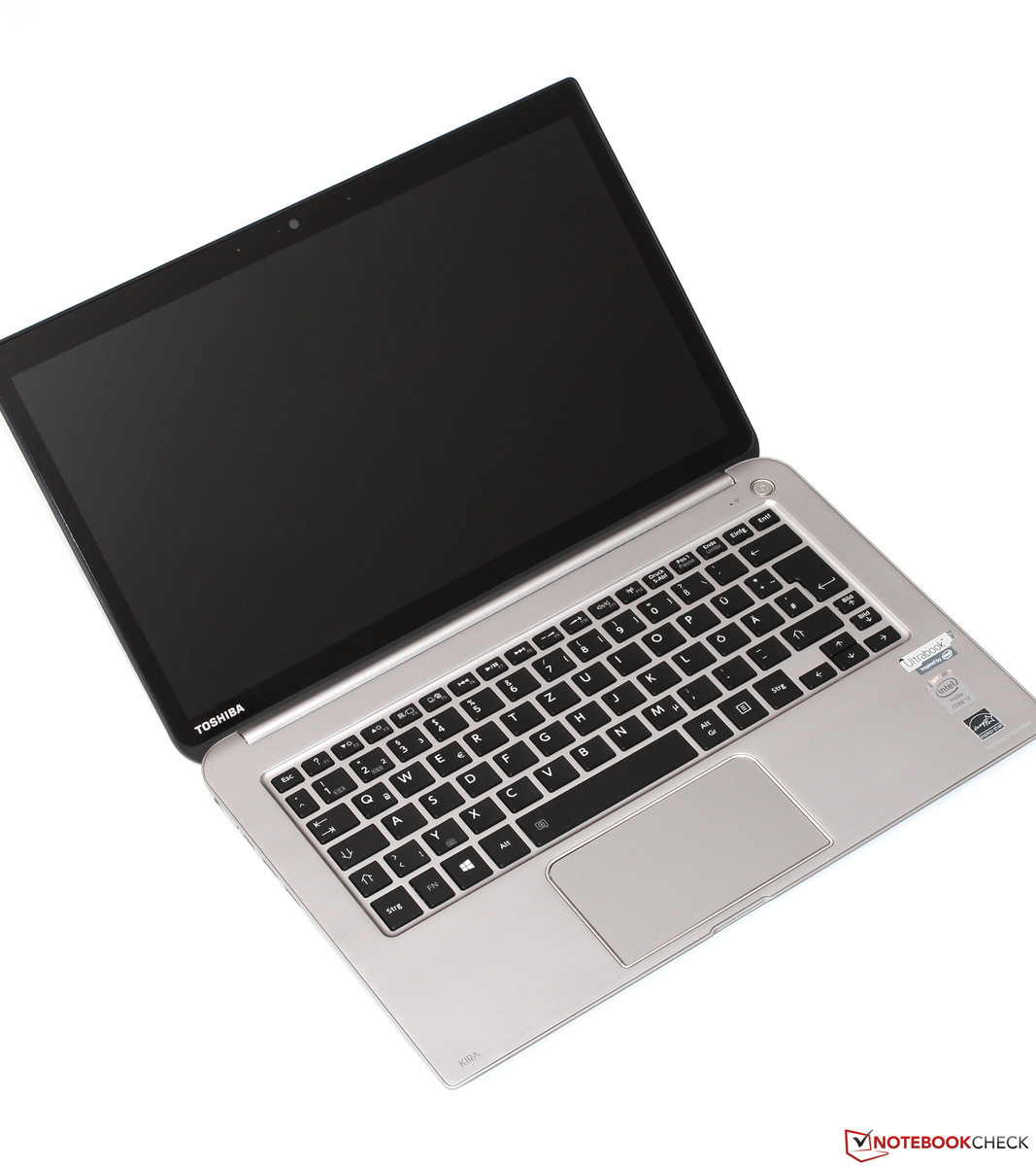Toshiba KIRAbook (KIRA-101) Ultrabook Review ...