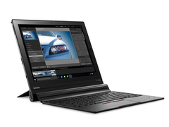 The ThinkPad X1 Tablet is available in modules, here with the Productivity Module (Picture: Lenovo)