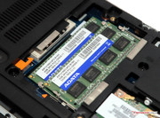 HP installs an 8 GB DDR3 working memory from ADATA.
