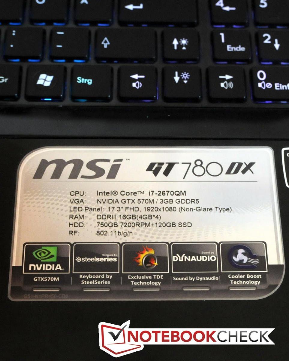 DRIVERS FOR MSI GT780DX NOTEBOOK REALTEK CARD READER
