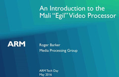 "The new ""Egil"" processor will integrate a Mali-G71 GPU"