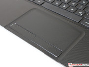 ...the conveniently structured and very precise touchpad.