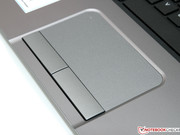 The design of the touchpad...