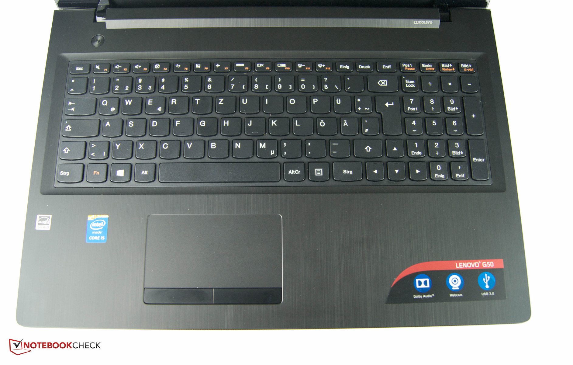 Lenovo G50-80 Notebook Review - NotebookCheck net Reviews