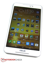Runs with a fast quad-core SoC: The Asus Fonepad 8.