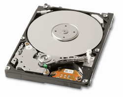 Toshiba MK5055GSX, 500 GB, 5400rpm, subjectively quiet, better performance than the Samsung 500 GB HDD