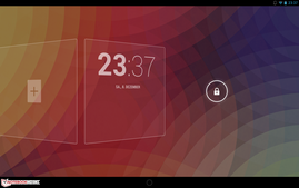 Android 4.2.1: Widgets on the lock screen