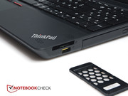 The ExpressCard-34 slot is a special feature as it is not available in every laptop.