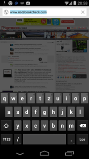 In on-edge mode, the keyboard recognizes inputs at less than...