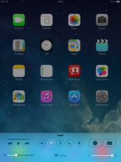 iPad Air Start screen