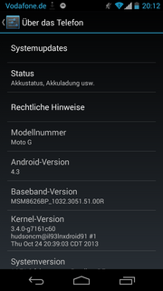 ...even outdoors. Android 4.3 is pre-loaded, and an...