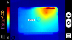 Thermal image under full load