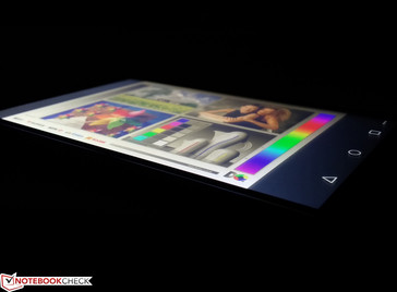 Wide IPS viewing angles