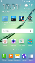 Home screen - TouchWiz UX