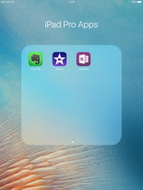 optimized apps for the iPad Pro