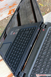 The Ultrabook is not fit for outdoor use, ...