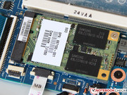 HP has fitted a 32 GB module by Samsung to the mSATA slot.
