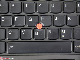 Precise trackpoint.