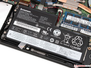The nominal capacity of the main battery is 24 Wh...