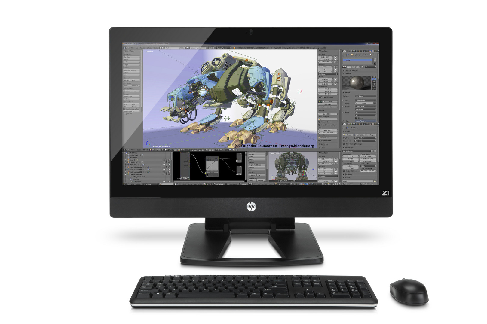 HP Z1 G2 AIO Workstation Review - NotebookCheck net Reviews