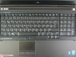 Review Dell Precision M4800 Notebook - NotebookCheck net Reviews