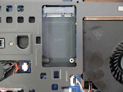 An mSATA SSD can also be installed.