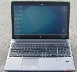 The ProBook 4530s outdoors