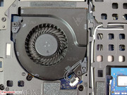 The cooler fan can be easily cleaned or even swapped out.