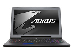 Aorus X7 v6. Test model provided by Gigabyte Germany.