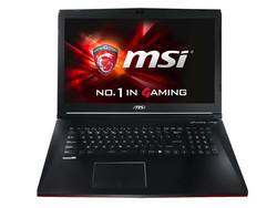 In review: MSI GP72 2QE Leopard Pro. Test model provided by Notebooksbilliger.de