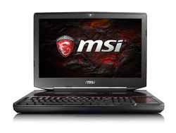 In review: MSI GT83VR 6RE Titan SLI. Test model courtesy of MSI Germany and Xotic PC.