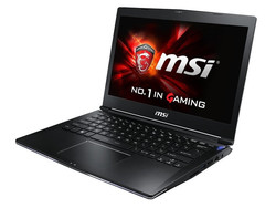 MSI GS30. Test model by courtesy of Cyberport.de