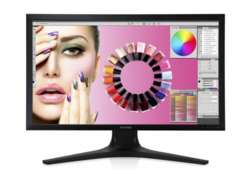 4k displays can only run at 30 Hz in native resolution due to the missing interface (here Viewsonic VP2780-4k, picture: Viewsonic).