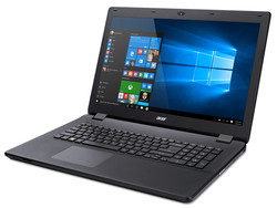 In review: Acer Aspire ES1-731G. Test model provided by Notebooksbilliger.de