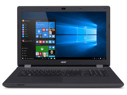 In review: Acer Aspire ES1-731-P4A6. Test model provided by Cyberport.de