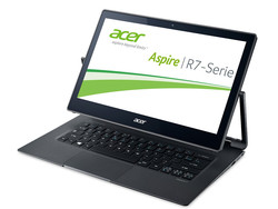 In review: Acer Aspire R13 R7-372T-53E0. Test model courtesy of Cyperport.de